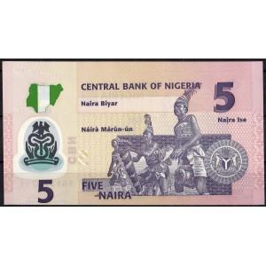 Нигерия 5 найра 2011 - UNC