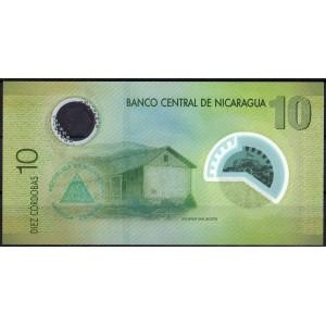 Никарагуа 10 кордоб 2007 - UNC
