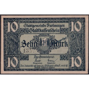 Фуртванген 10 марок 1918 - UNC