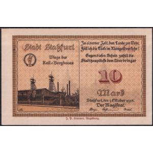Штасфурт 10 марок 1918 - UNC