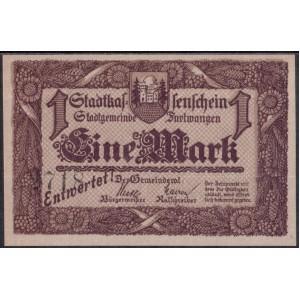 Фуртванген 1 марка 1918 - UNC