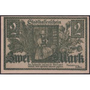 Фуртванген 2 марки 1918 - UNC
