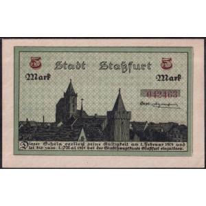 Штасфурт 5 марок 1918 - UNC