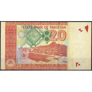 Пакистан 20 рупий 2007 - UNC