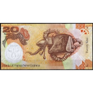 Папуа - Новая Гвинея 20 кина 2006 - UNC