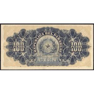 Парагвай 100 песо 1907 - AUNC