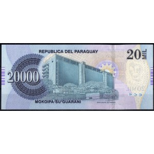 Парагвай 20000 гуарани 2007 - UNC