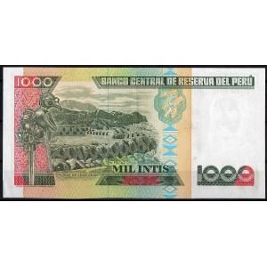 Перу 1000 инти 1988 - UNC
