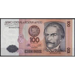 Перу 100 инти 1987 - UNC