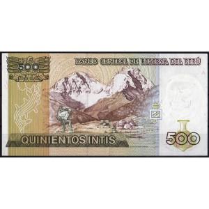 Перу 500 инти 1987 - UNC