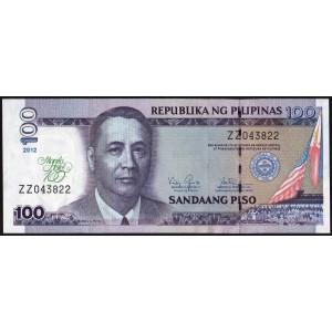Филиппины 100 песо 2012 - UNC