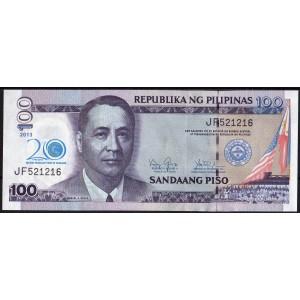 Филиппины 100 песо 2013 --UNC