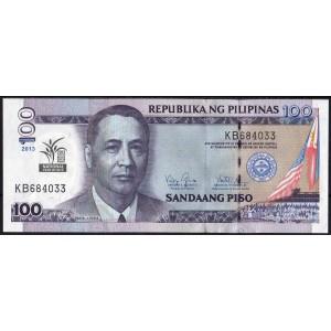 Филиппины 100 песо 2013 - UNC