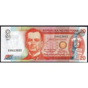 Филиппины 20 песо 2005 - UNC