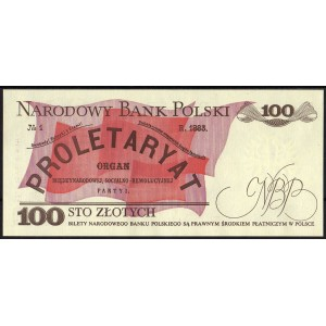 Польша 100 злотых 1988 - UNC