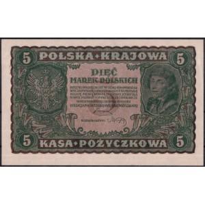 Польша 5 марок 1919 - UNC