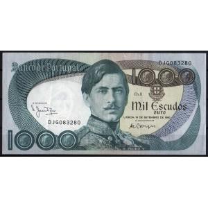 Португалия 1000 эскудо 1980 - XF+