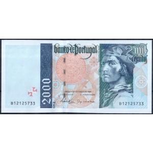 Португалия 2000 эскудо 1997 - UNC