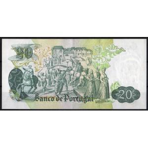 Португалия 20 эскудо 1971 - AUNC