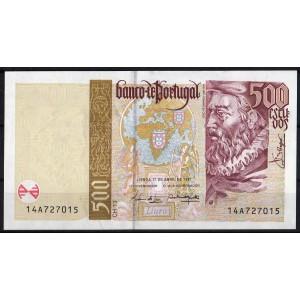 Португалия 500 эскудо 1997 - UNC