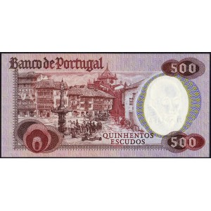 Португалия 500 эскудо 1979 - UNC