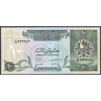 Катар 10 риалов 1996 - UNC