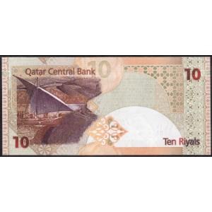 Катар 10 риалов 2008 - UNC