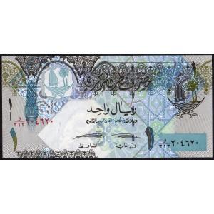 Катар 1 риал 2008 -- UNC