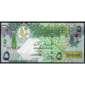 Катар 5 риалов 2008 - UNC