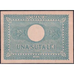 Румыния 100 лей 1945 - UNC