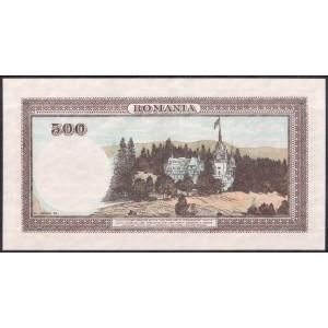 Румыния 500 лей 1940 - UNC