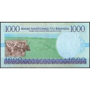 Руанда 1000 франков 1998 - UNC