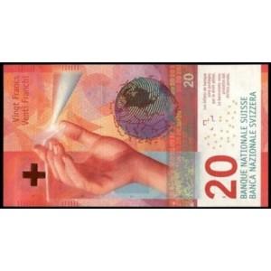 Швейцария 20 франков 2017 - UNC
