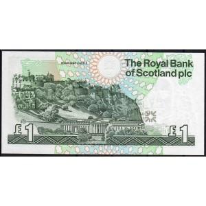 Шотландия 1 фунт 1991 - UNC