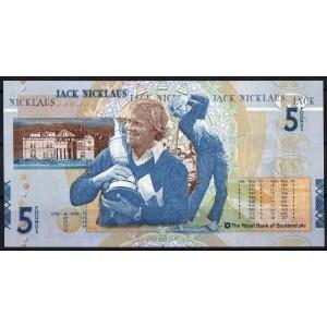 Шотландия 5 фунтов 2005 - UNC