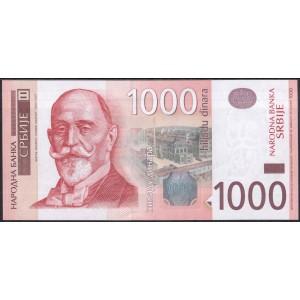 Сербия 1000 динар 2011 - UNC