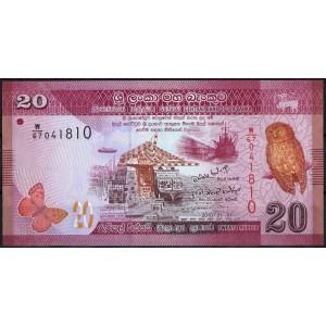 Шри-Ланка 20 рупий 2010 - UNC