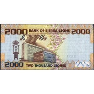 Сиерра-Леоне 2000 леоне 2010 - UNC