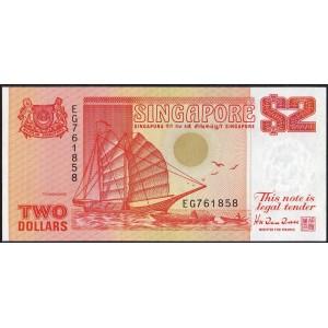 Сингапур 2 доллара 1990 - UNC