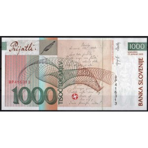 Словения 1000 толаров 2005 - UNC