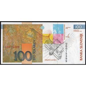 Словения 100 толаров 1992 - UNC