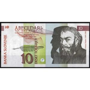 Словения 10 толаров 1992 - UNC