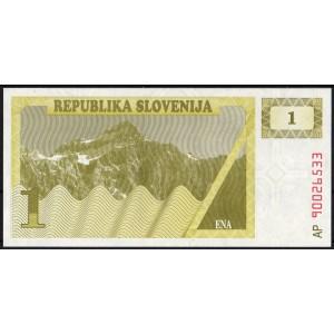 Словения 1 толар 1990 - UNC