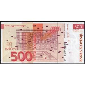 Словения 500 толаров 2005 - UNC
