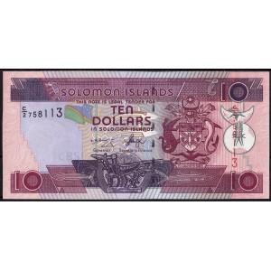 Соломоновы острова 10 долларов 2004 - UNC