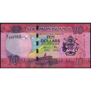 Соломоновы острова 10 долларов 2017 - UNC