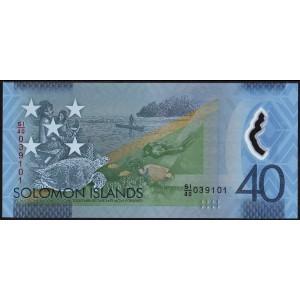 Соломоновы острова 40 долларов 2018 - UNC