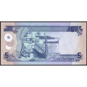 Соломоновы острова 5 долларов 2006 - UNC
