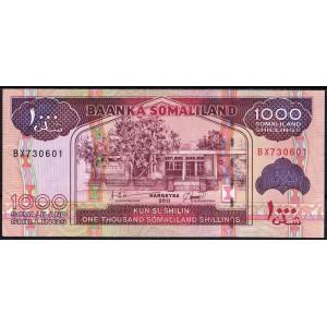 Сомалиленд 1000 шиллингов 2011 - UNC