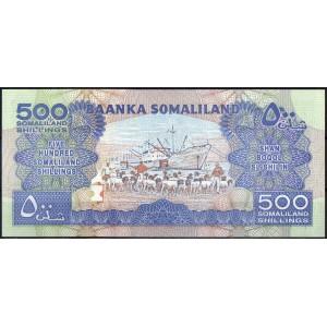 Сомалиленд 500 шиллингов 2011 - UNC